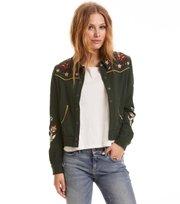 Odd Molly - energy jacket - CARGO GREEN