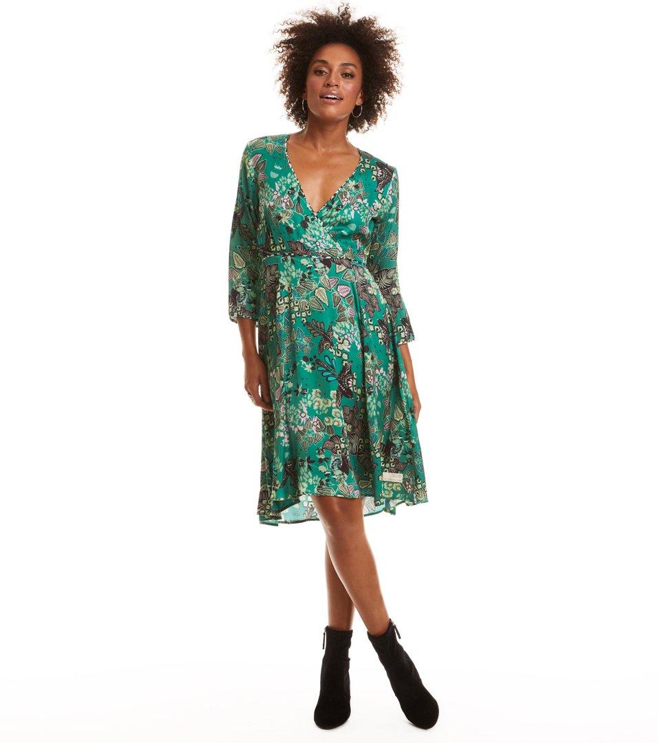 d16c87dc Odd Molly - magic garden-kjole - BOTTLE GREEN