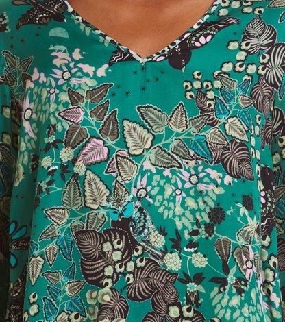 magic garden blouse