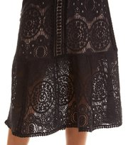 Odd Molly - layer cake skirt - ALMOST BLACK
