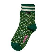 Odd Molly - socky sock - GREEN GLITTER