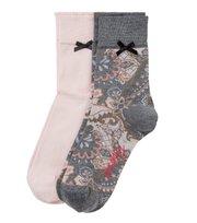 Odd Molly - socky sock - BLUSH PAISLEY