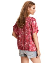 Odd Molly - hearth within blouse - HOT PINK