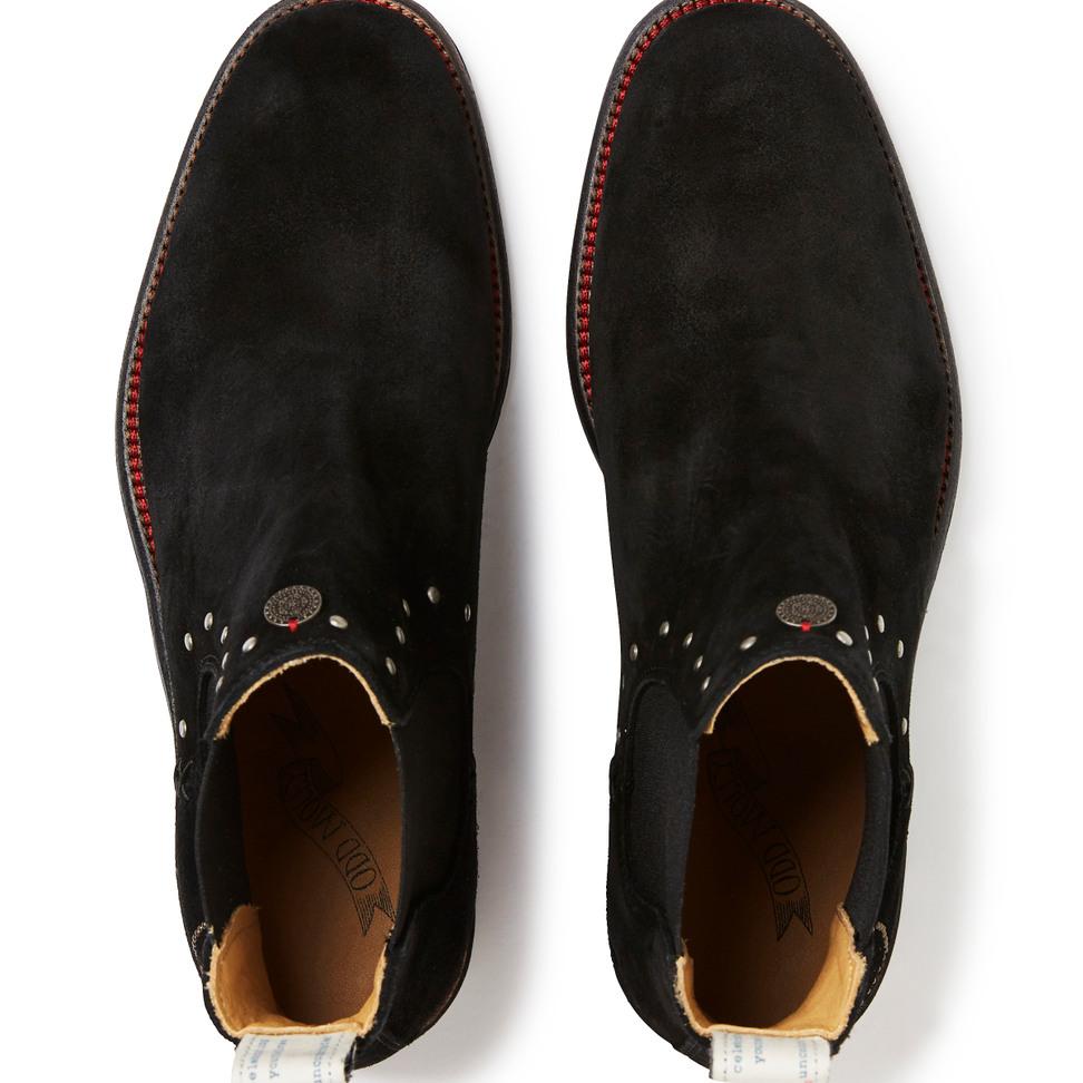 51397615ebd ... Lave Mollyhood-støvler i semsket skinn