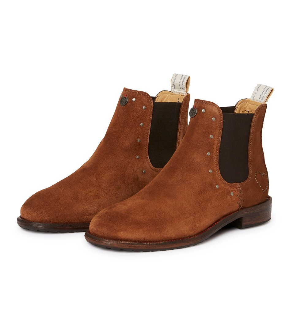 mollyhood low suede boot
