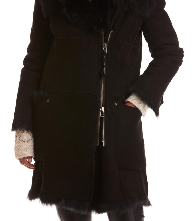 rhythm shearling coat