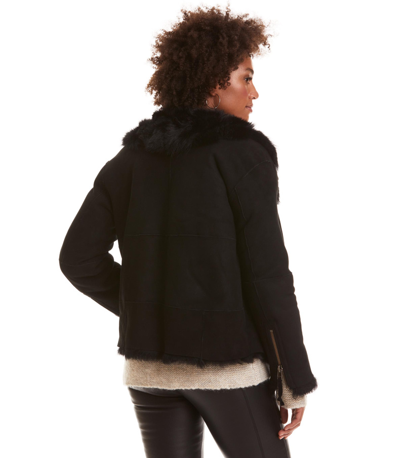 rhythm shearling jacket