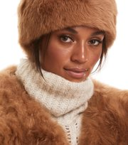 Odd Molly - rhythm shearling headband - DESERT