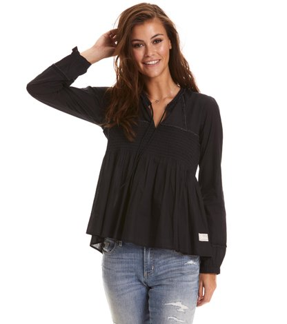 ripple crush blouse