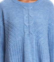 Odd Molly - harmony play sweater - HERITAGE BLUE