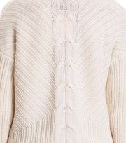 Odd Molly - harmony play sweater - LIGHT CHALK