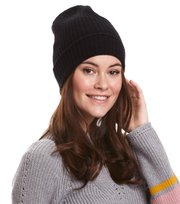 Odd Molly - sunrise rhythm beanie - BLACK