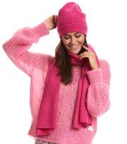 Odd Molly  - sunrise rhythm scarf - HOT PINK