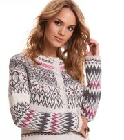 Odd Molly - Vivid Vibration Cardigan - CHALK