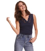 Odd Molly - rib-eye tank - DARK BLUE