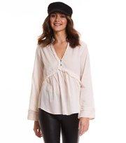 Odd Molly - full frill blouse - MISTY WHITE