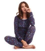 Odd Molly  - love flame pyjamas top - DARK BLUE