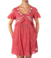 Odd Molly - changeling dress - LITE RED