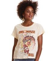 Odd Molly - Power Proclamation T-Shirt - LIGHT BISCOTTI
