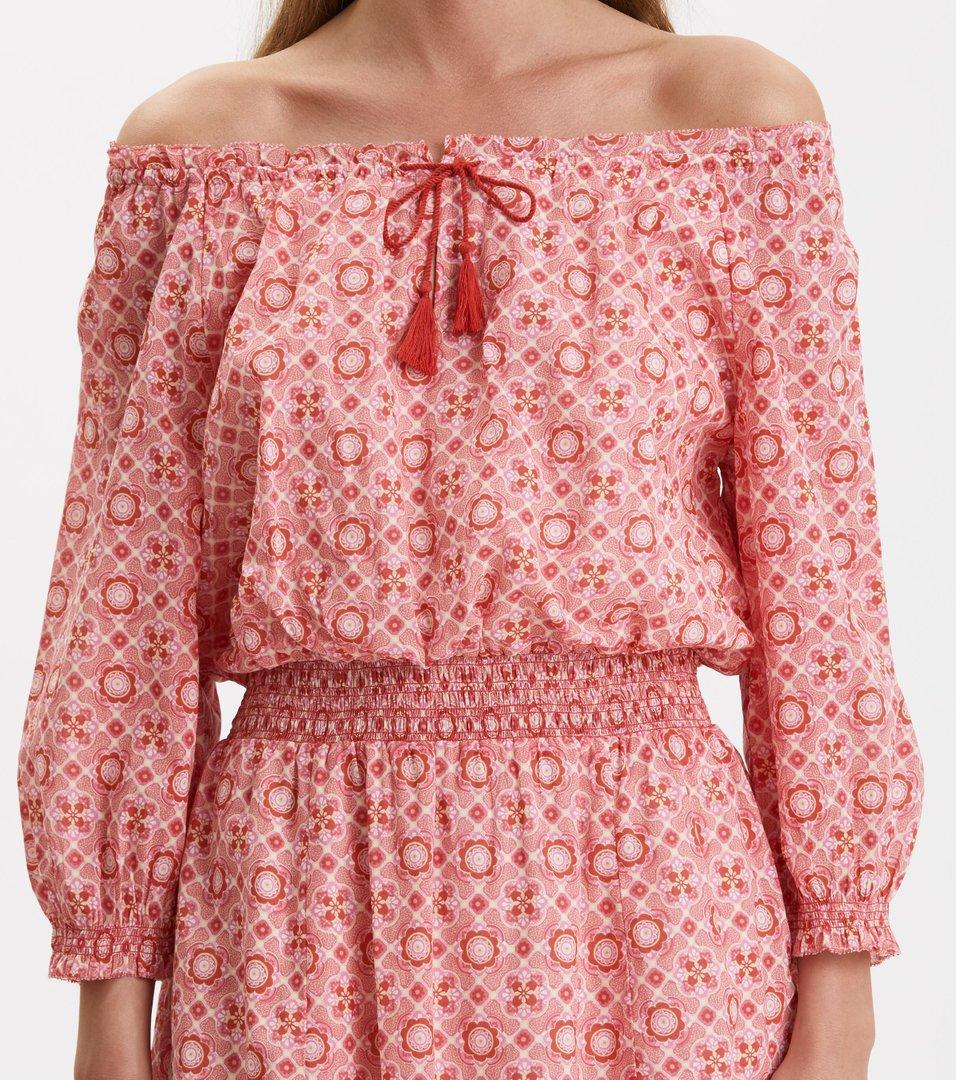 c50bd4fc0412 Odd Molly - stayin free dress - BLUSH PINK