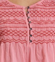 Odd Molly - fring swing blouse - BLUSH PINK