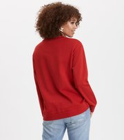 Odd Molly - deep vibes sweater - POPPY RED