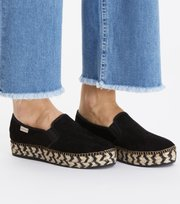 Odd Molly  - stepper espadrillo - BLACK