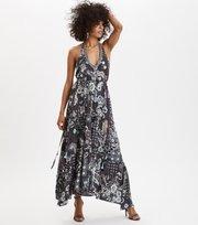 Wonderland Halter Neck Dress