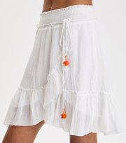 Odd Molly - superflow skirt - BRIGHT WHITE