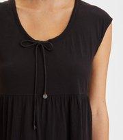 Odd Molly - groove romance s/s dress - ALMOST BLACK