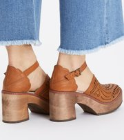 Odd Molly - wild at heart clogs - BROWN
