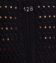 Odd Molly - symmetry moves cardigan - BLACK