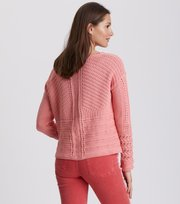 Odd Molly - symmetry moves sweater - PEACH BLOSSOM