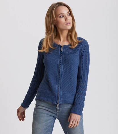symmetry moves zip cardigan