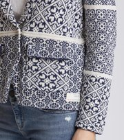 Odd Molly - fractal spirit cardigan - DARK BLUE