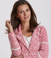 Odd Molly - fractal spirit cardigan - BRIGHT ROSE