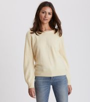 Odd Molly - soft pursuit sweater - LIGHT YELLOW