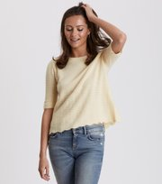 Odd Molly - soft pursuit top - LIGHT YELLOW
