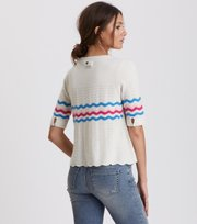 Odd Molly - soft pursuit top - CHALK