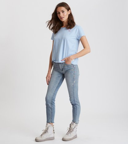 groupie cropped jean