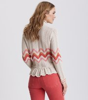 Odd Molly - Can-Can Cardigan - LIGHT PORCELAIN