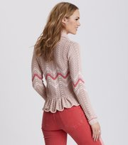 Odd Molly - can-can cardigan - PINK SAND