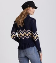 Odd Molly - Can-Can Cardigan - DARK BLUE