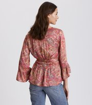 Odd Molly - deep groove garden blouse - HOT PINK