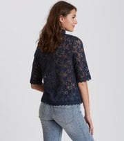 Odd Molly - sway high blouse - FRENCH NAVY