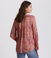 Odd Molly - deep groove garden l/s blouse - HOT PINK