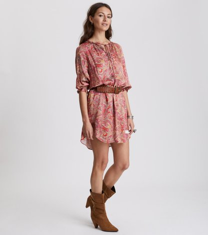 deep groove garden dress