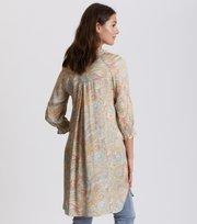 Odd Molly - deep groove garden dress - PEACH BLOSSOM