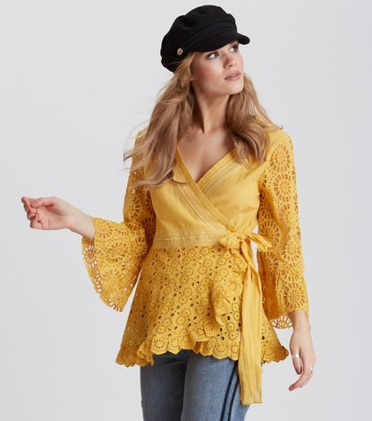 two-step flow blouse