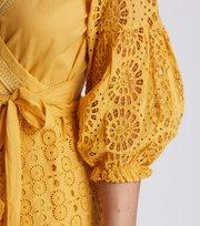 Odd Molly - two-step flow dress - OCHRE